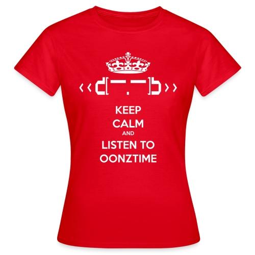 Keep Calm png - Women's T-Shirt