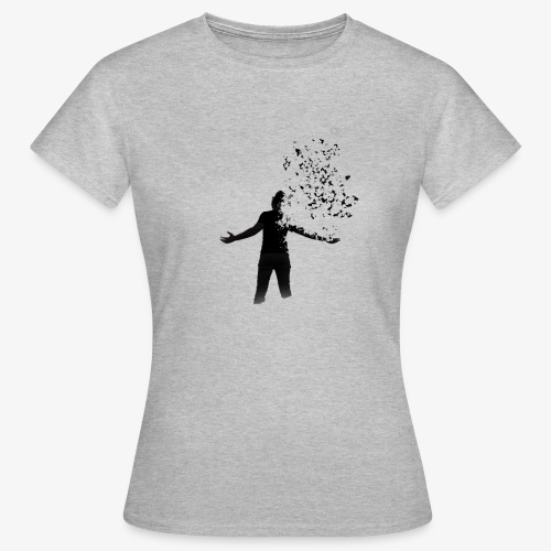 Coming apart. - Women's T-Shirt