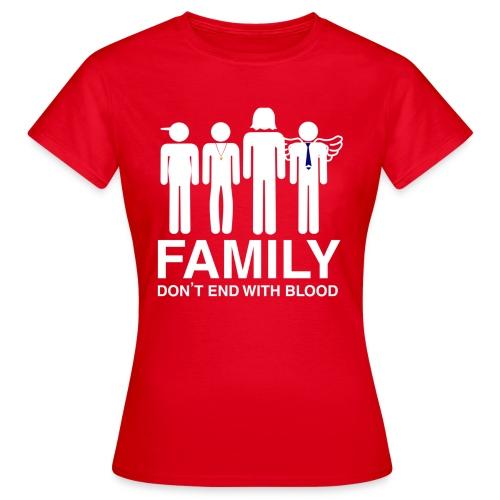 Family (dark) Hoodies & Sweatshirts - Women's T-Shirt