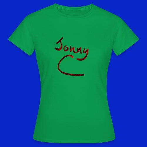 Jonny C Red Handwriting - Women's T-Shirt