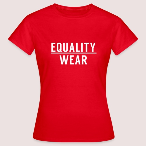 Equality Wear Official Pattern - Women's T-Shirt
