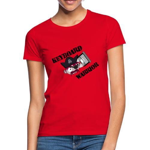 A Real Keyboard Warrior - T-shirt dam