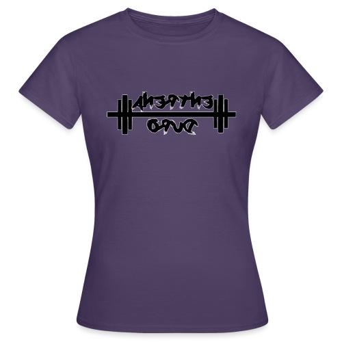 Para el Espejo: GYM - ENTRENA DURO - Camiseta mujer