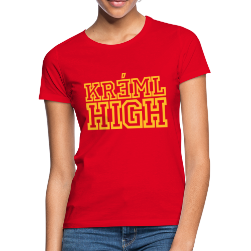 Kreml High - T-shirt dam