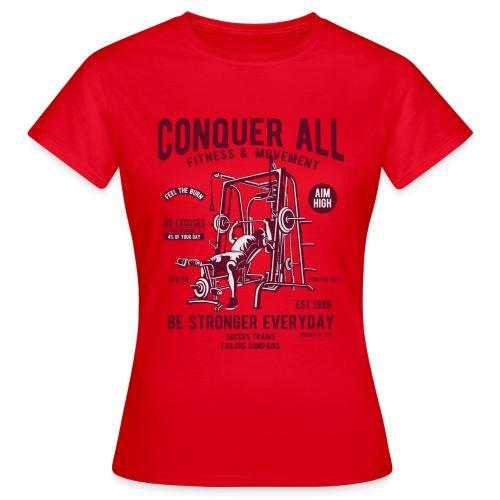 Conquer All2 - T-shirt Femme