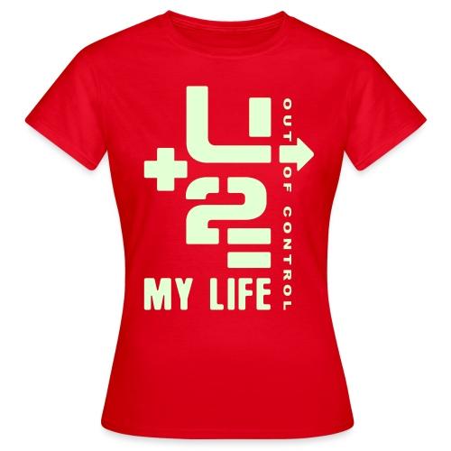 U 2 OUT OF CONTROL - Women's T-Shirt