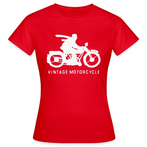 vintage motorcycle - Frauen T-Shirt