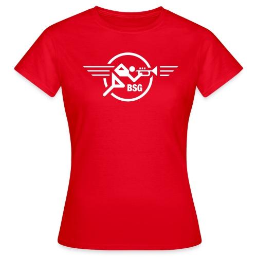 Trompeten-Runner für den Herrn - Frauen T-Shirt