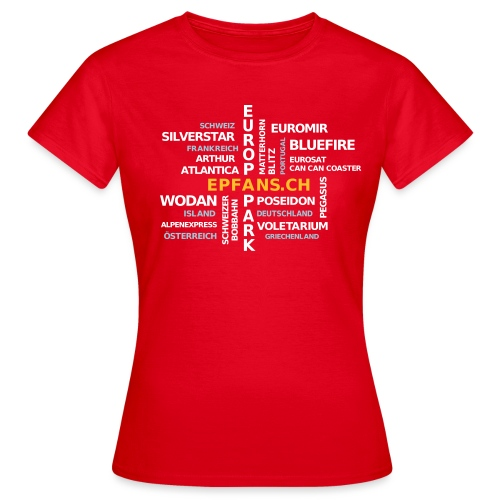 Tagcloud 2019 - Frauen T-Shirt