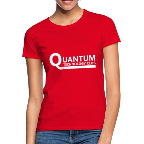 Quantum Tech logo (w) - Women's T-Shirt