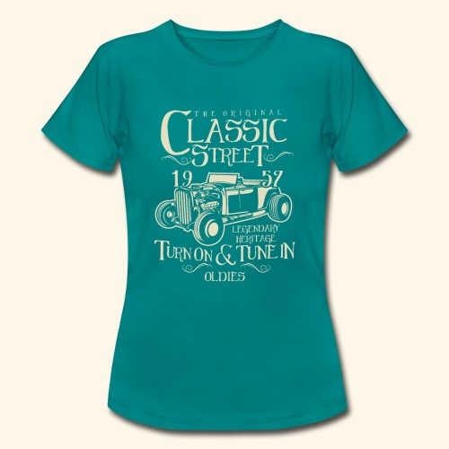 Hot Rod Classic - Frauen T-Shirt