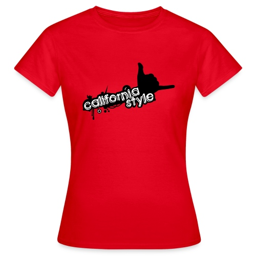 california style 1 - Maglietta da donna