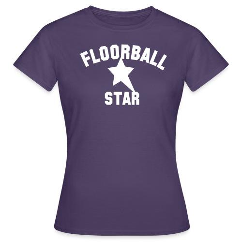 floorballstar - T-shirt dam