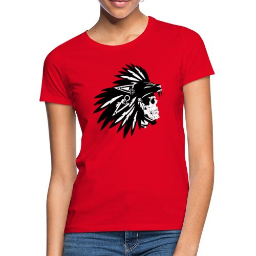 Indianer Totenkopf - Frauen T-Shirt