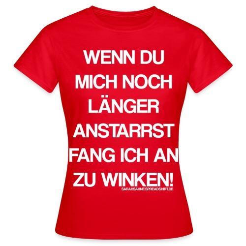 Winken - Frauen T-Shirt