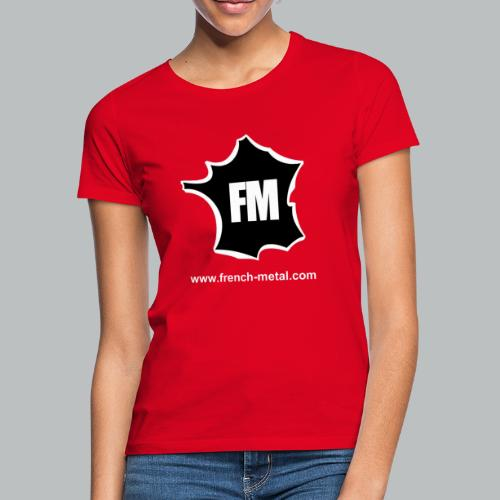 FRENCH METAL - T-shirt Femme