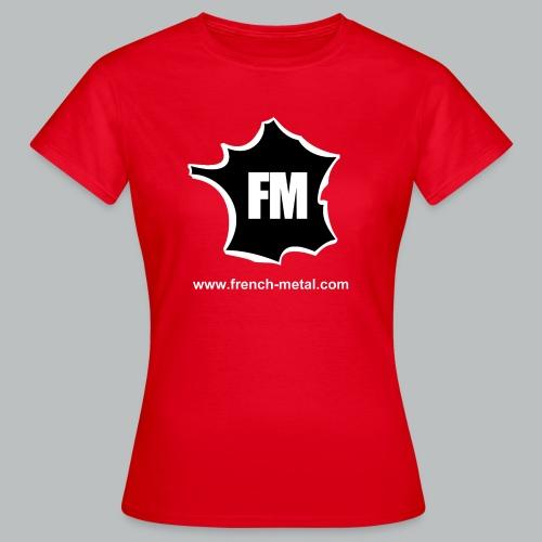 ts frenchmetal png - T-shirt Femme