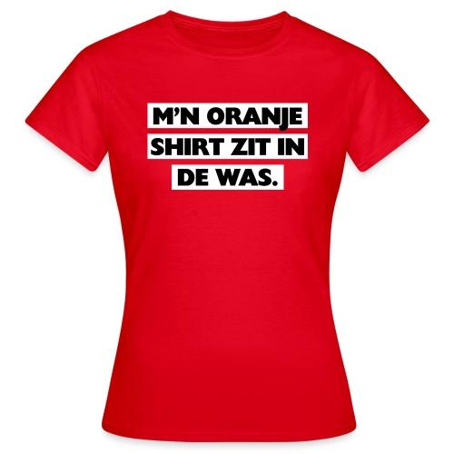 In de was - Vrouwen T-shirt