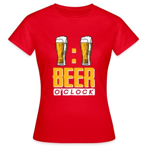BEER O'Clock - Frauen T-Shirt