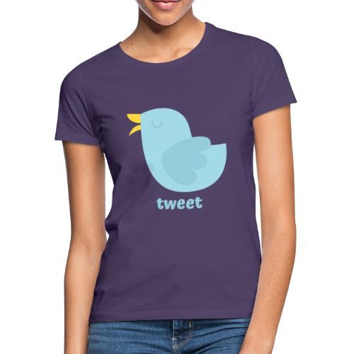 tweet - Dame-T-shirt