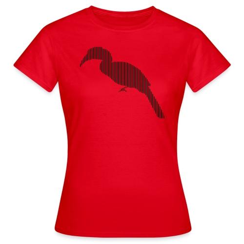 LINE BIRD 029b - Vrouwen T-shirt