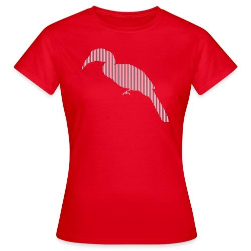 LINE BIRD 029w - Vrouwen T-shirt