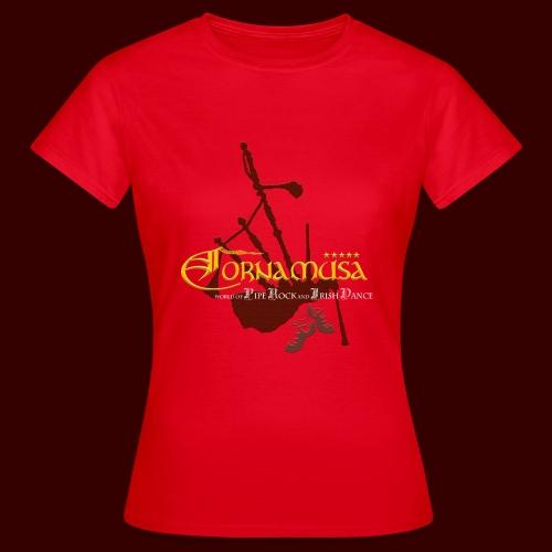 Vorderseite T Shirt red - Frauen T-Shirt