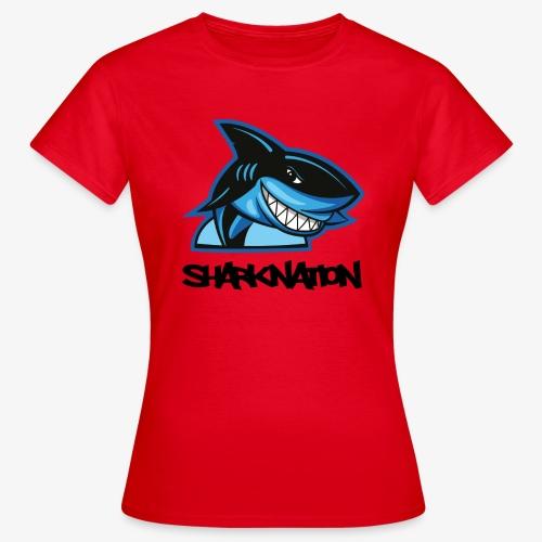 SHARKNATION / Black Letters - Frauen T-Shirt