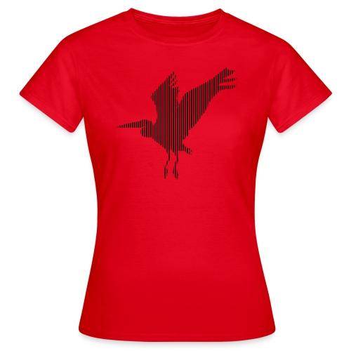 LINE BIRD 034b - Vrouwen T-shirt