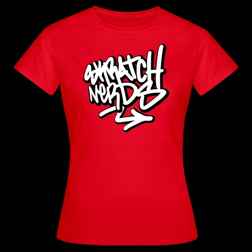 SKRATCH NERDS TAG BLACK 01 copie - T-shirt Femme