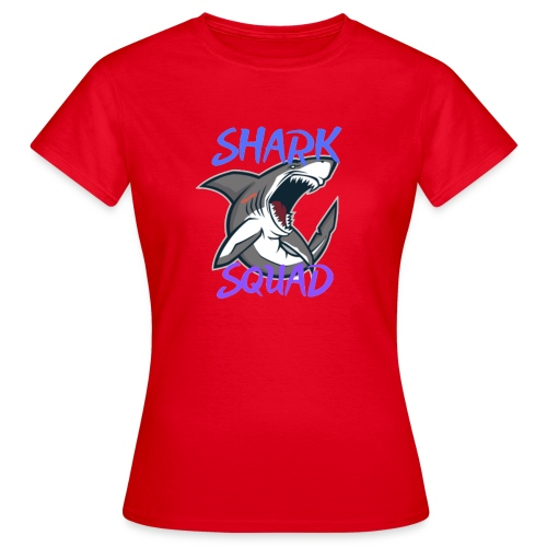 Shark Squad - PowerMEGAL0D0N - T-shirt Femme