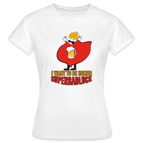 superbadluck - HOMER - Maglietta da donna