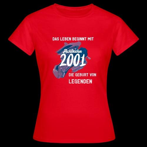 Das Leben faengt mit achtzehn - Frauen T-Shirt