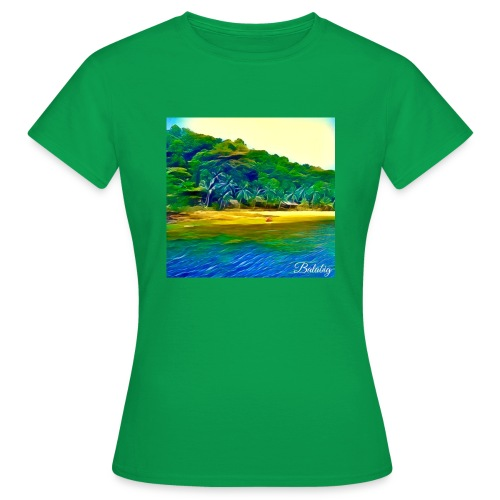 Tropical beach - Maglietta da donna