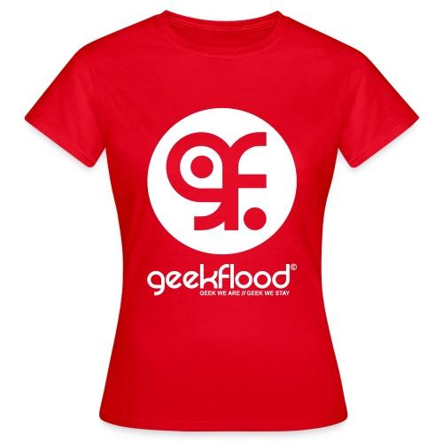Geekflood logo - T-shirt Femme
