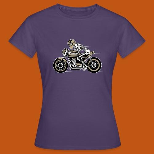 Cafe Racer Motorrad 05_dreifarbig - Frauen T-Shirt