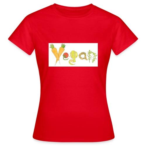 vegan - Camiseta mujer