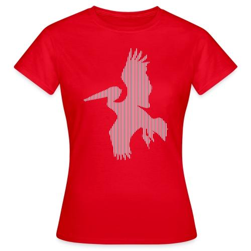 LINE BIRD 017w - Vrouwen T-shirt