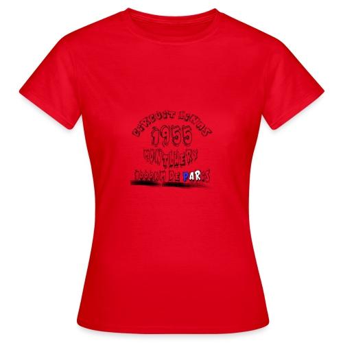 Les anciennes courses automobile - T-shirt Femme