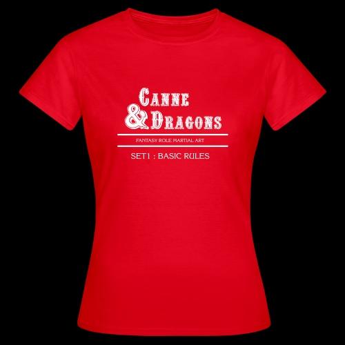C&D 1ere edition - T-shirt Femme