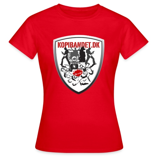 KopiBandet.DK Våbenskjold - Dame-T-shirt