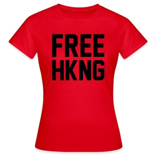 Free Hong Kong - Frauen T-Shirt