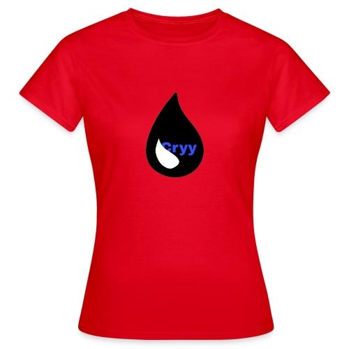 Cryy Logo - Frauen T-Shirt