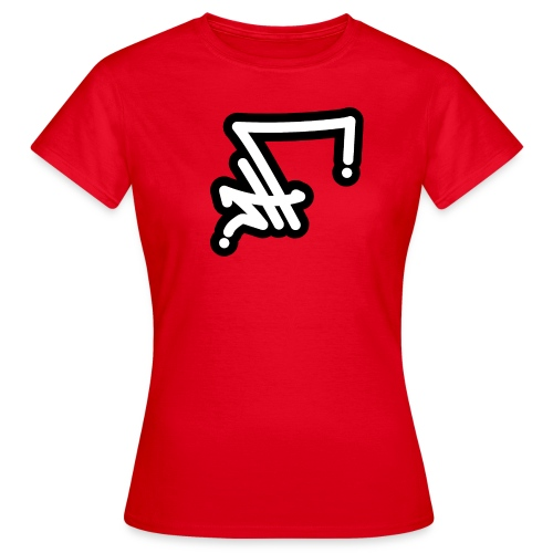 STF TAG - WH BLK-01 - Frauen T-Shirt