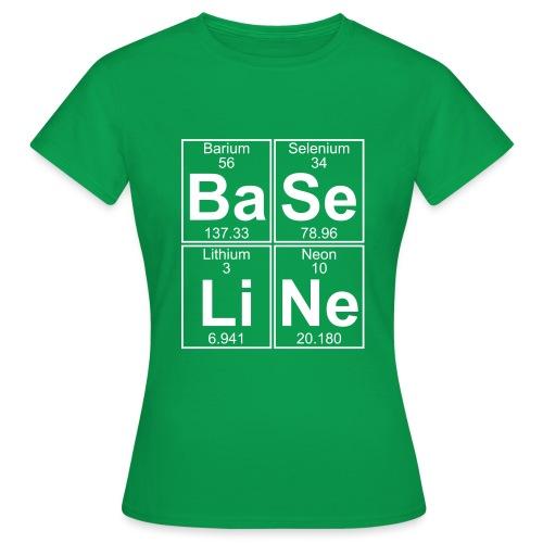 Ba-Se-Li-Ne (baseline) - Full - Women's T-Shirt