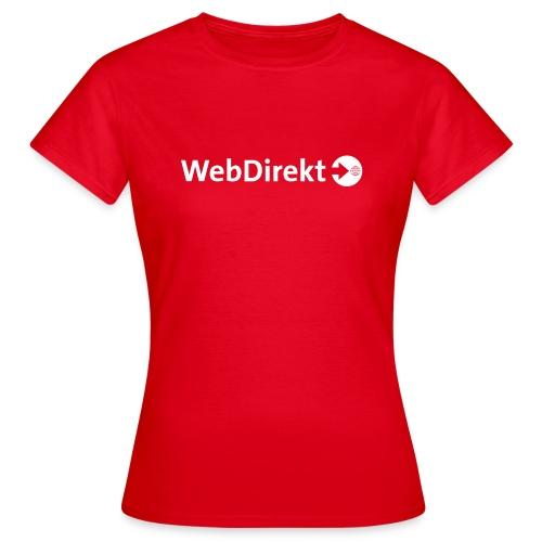 webdirekt logo vector - Frauen T-Shirt