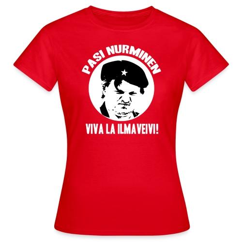 Pasi Nurminen Viva La Ilmaveivi - Naisten t-paita