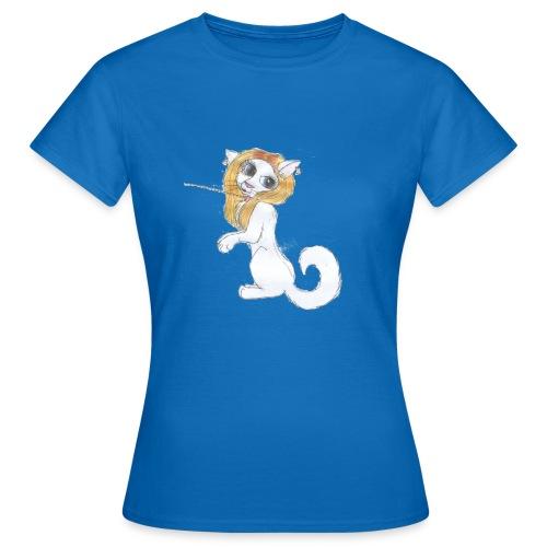 Comic Katze - Frauen T-Shirt