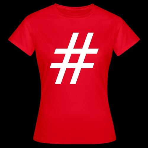 Hashtag Team - Frauen T-Shirt