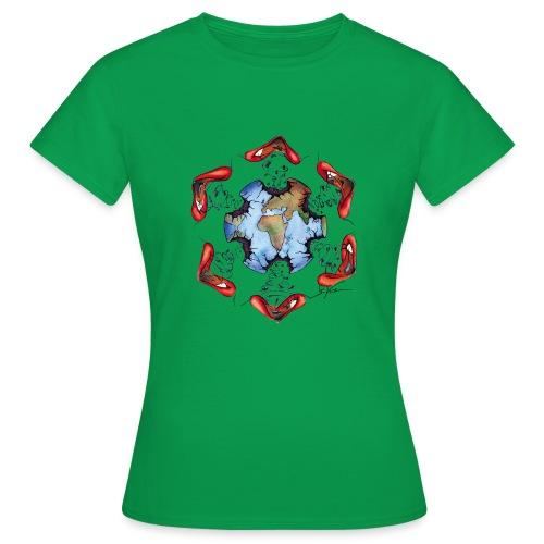 Égoïsme de l'être humain - T-shirt Femme